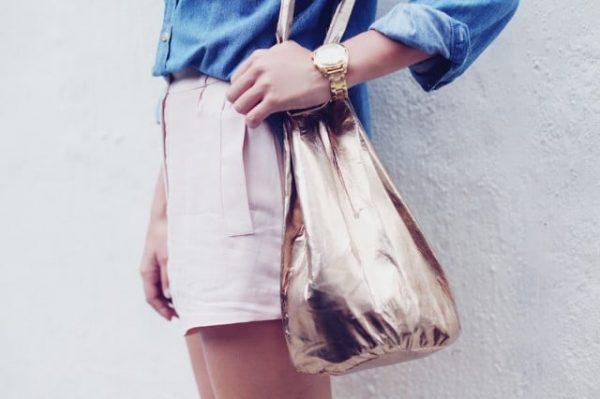 diy sac en cuir bucket bag