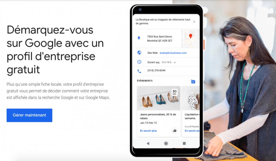 Google My Business : Booster le référencement  local de votre entreprise créative 3